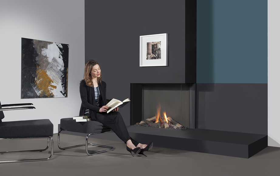 Bidore 100H fireplace