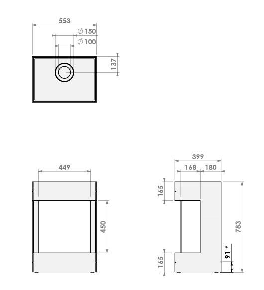 BOX gas Panorama 45-45
